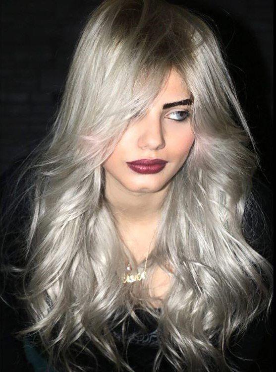 стрижка на длинные тонкие волосы фото