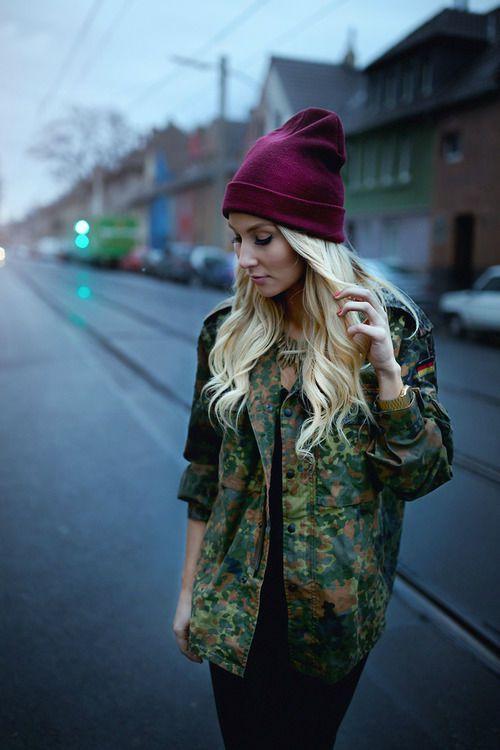 молодежные шапки для девушек фото