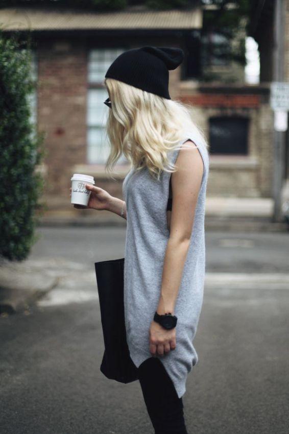 как модно носить шапку