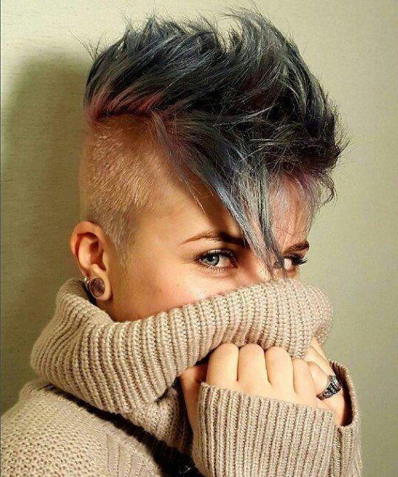 прическа на очень короткие тонкие волосы
