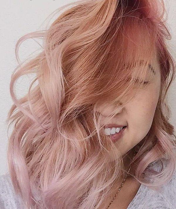 Пепельно-рыжий цвет волос