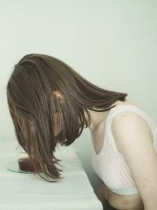 стрижка для редких волос средней длины