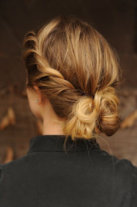 средняя длина волос прически на каждый день