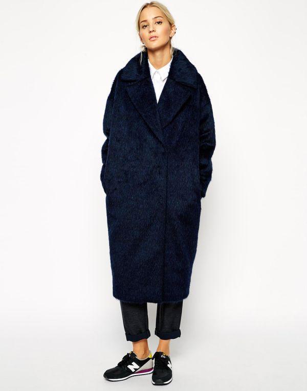 женское пальто кокон фото