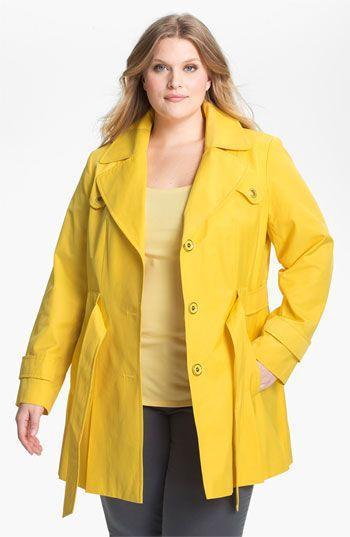 женское пальто весна-осень для полных