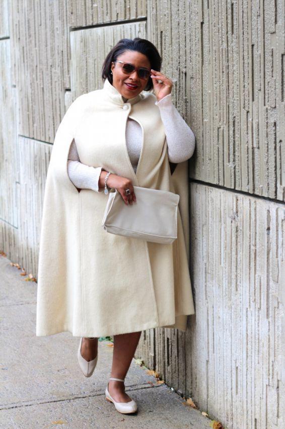 айвори женские пальто для полных женщин фото