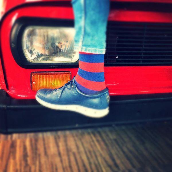 прикольные носки для мужчин в полоску