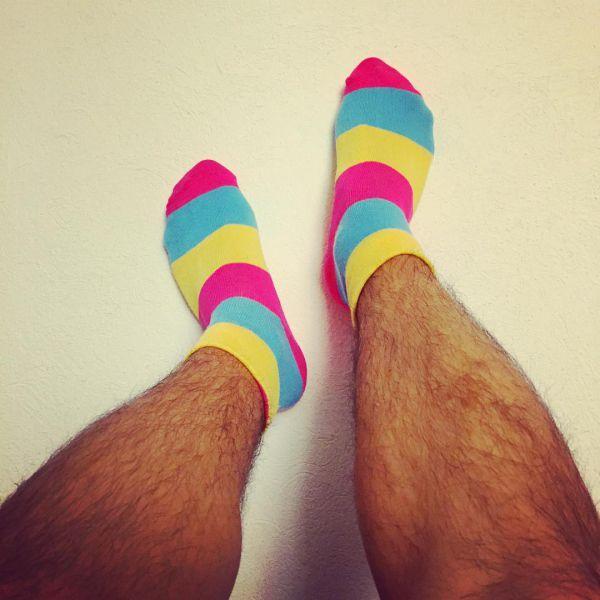 смешные носки для мужчин с яркой расцветкой