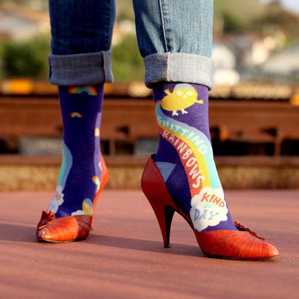 эпатажные женские носки