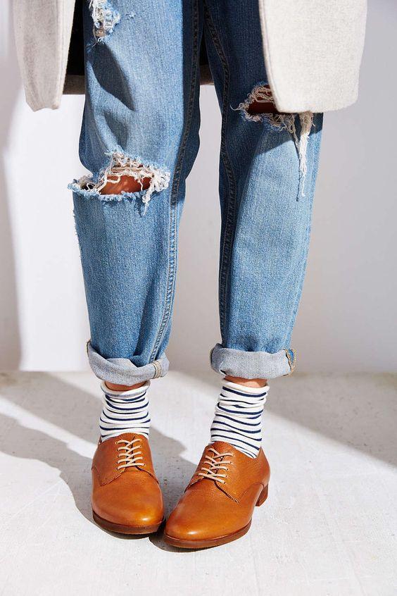 смешная женская пара носков под туфли
