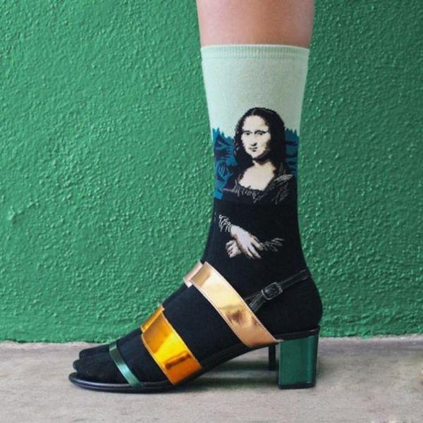 модные носочки для женщин