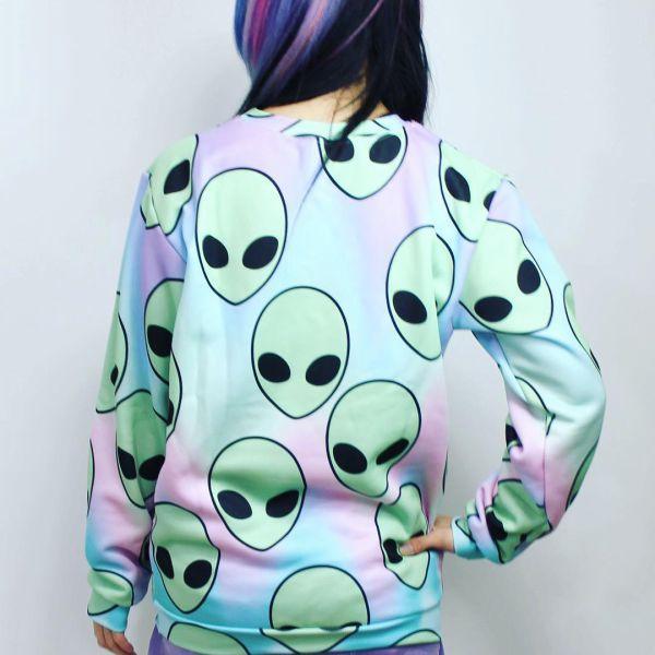 свитшот с инопланетянами