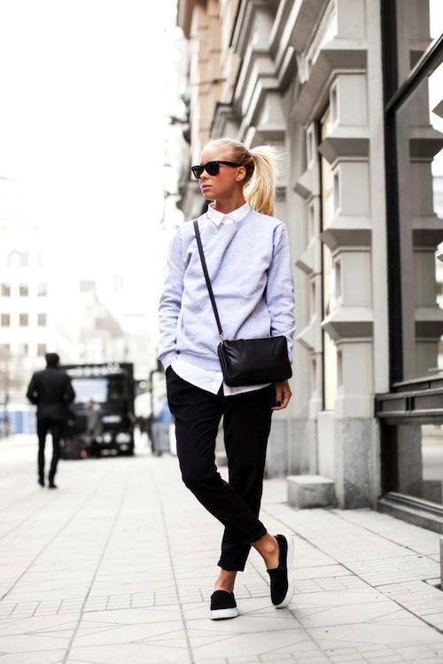 модные голубые женские свитшоты
