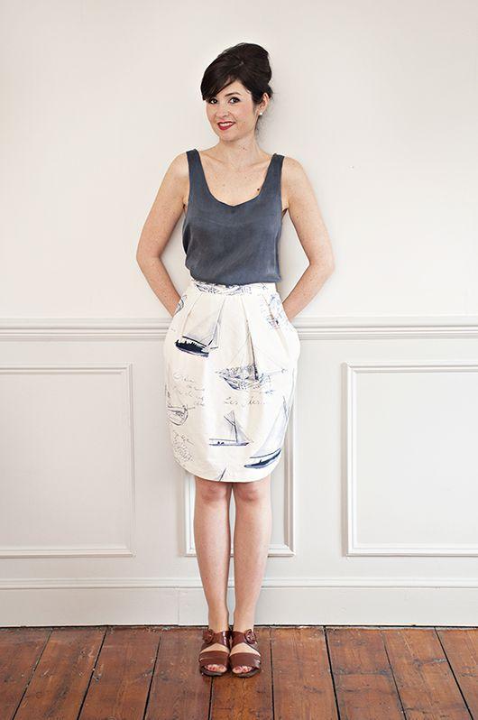 юбка тюльпан фото