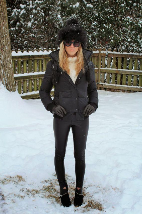 модные меховые шапки из норки зима 2016