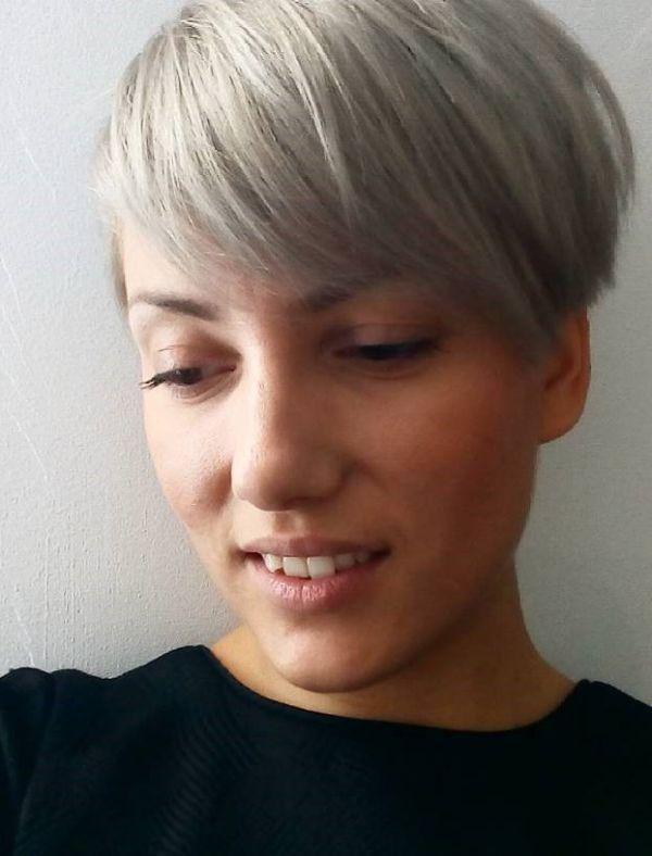 короткая стрижка боб женская для тонких волос фото