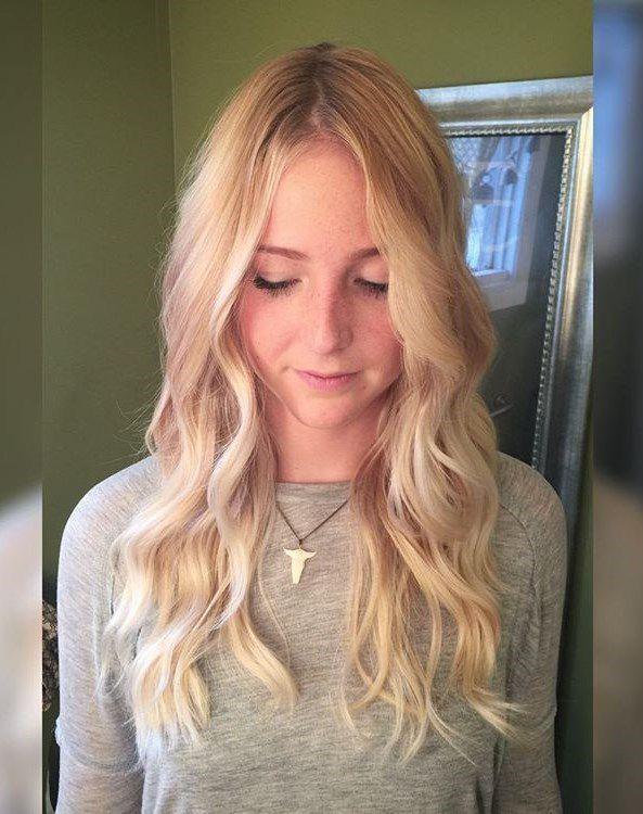 платиновый блондин цвет волос