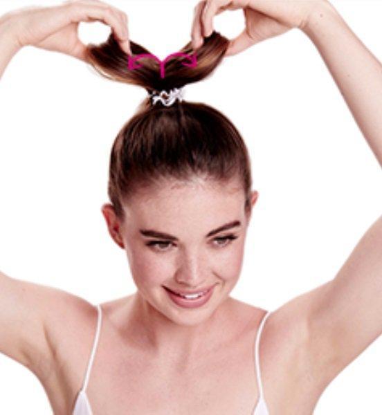 как сделать прическу бант из волос