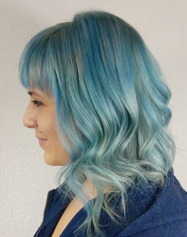 прическа на тонкие волосы средней длины фото