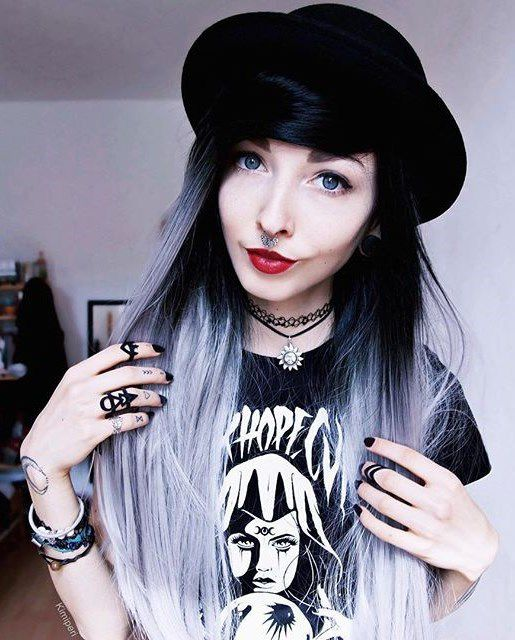 темно-пепельный оттенок волос