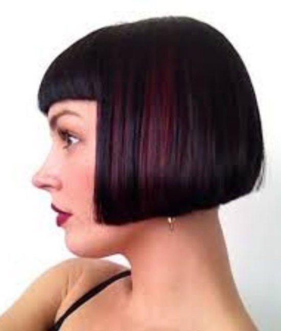 объемная стрижка на жидкие волосы