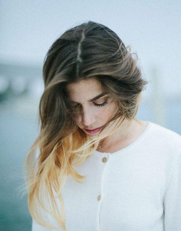 полудлинные стрижки для тонких волос