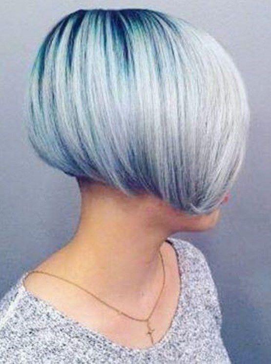 стрижка для редких волос