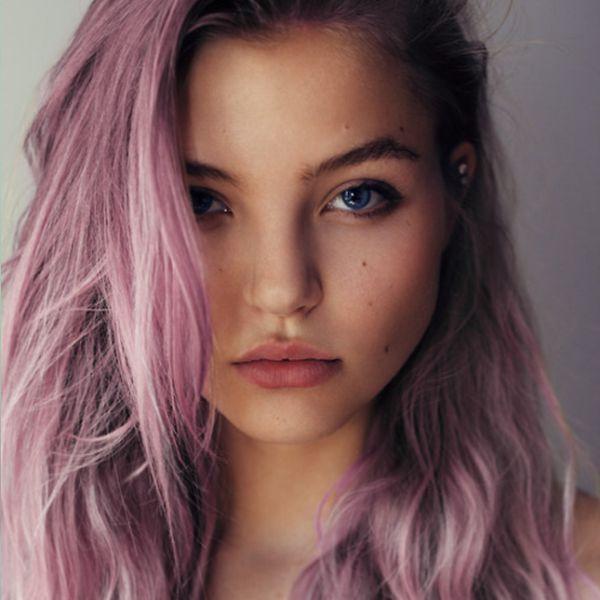виноградный оттенок волос