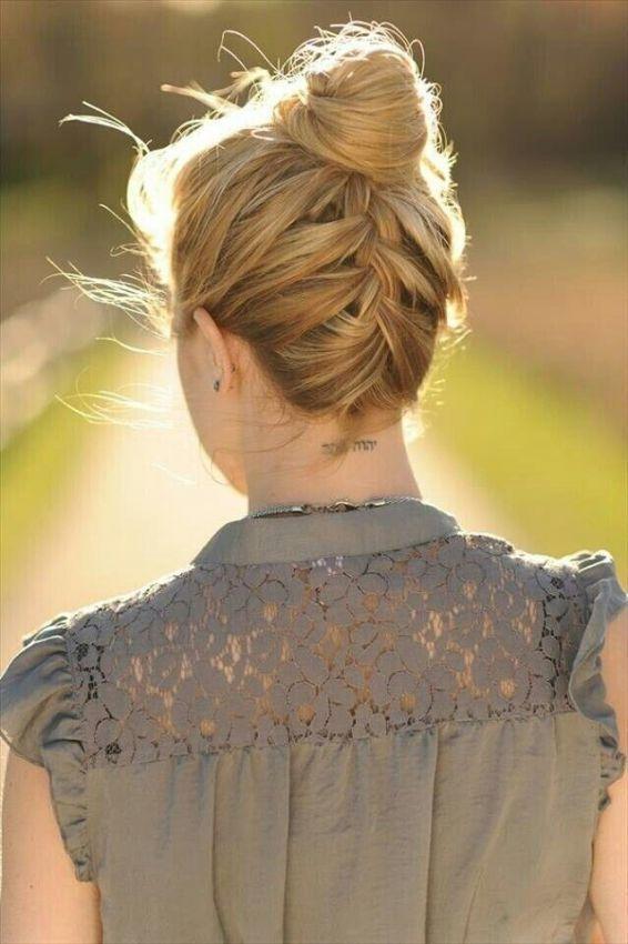 причёски на каждый день на средние волосы фото