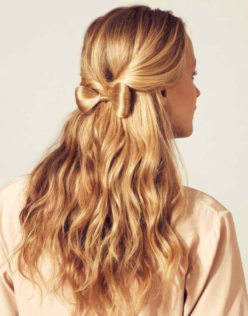 прически на длинные волосы на каждый день фото