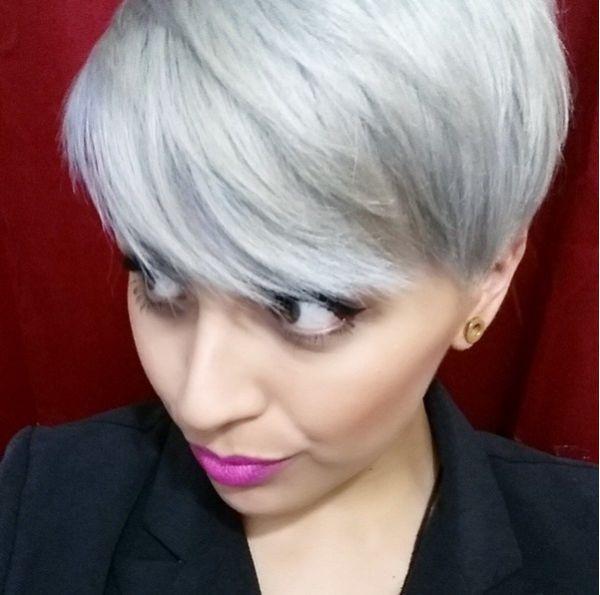 пикси на серый цвет волос