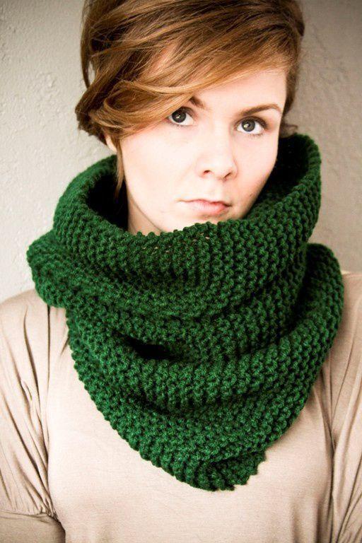как завязать шарф снуд фото