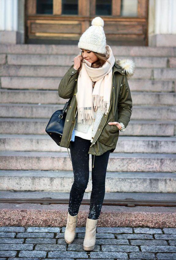 модные женские парки осень зима 2018 2019