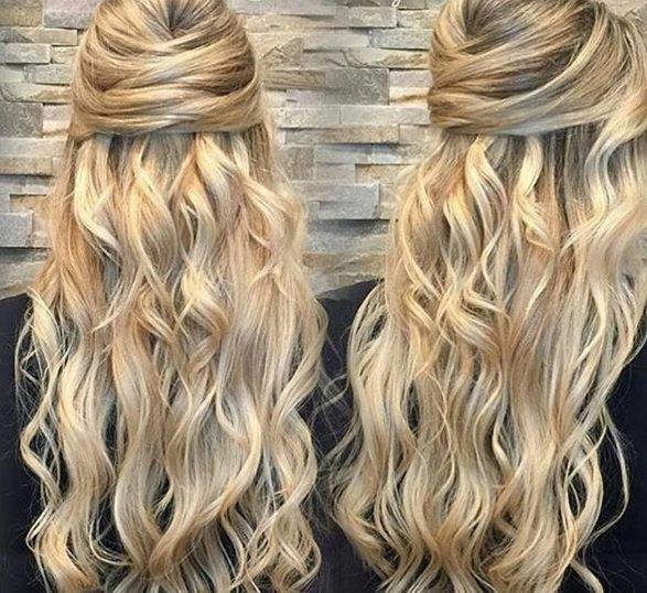стрижки на длинные волосы для круглого лица фото