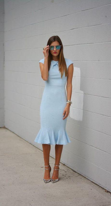 модные платья футляр 2016 года
