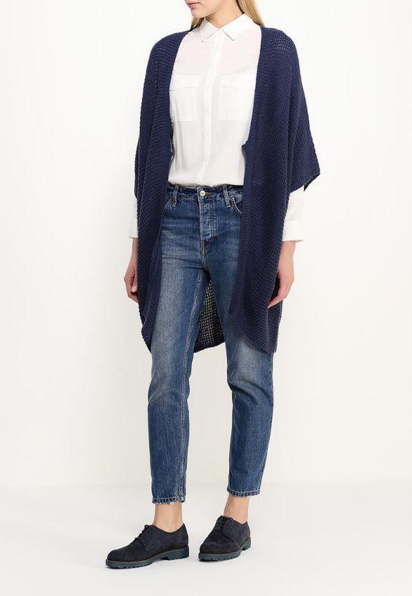 джинсы под кардиган