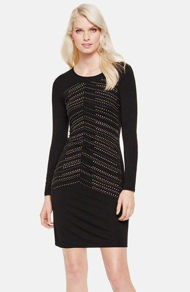 трикотажное платье футляр