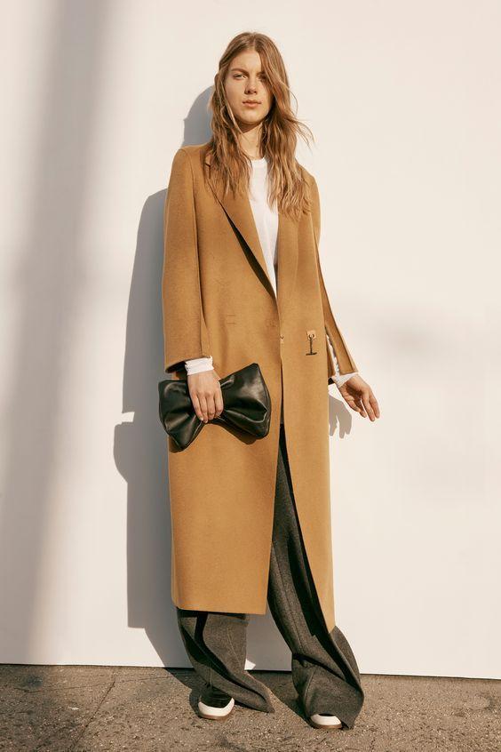 женское пальто из кашемира фото