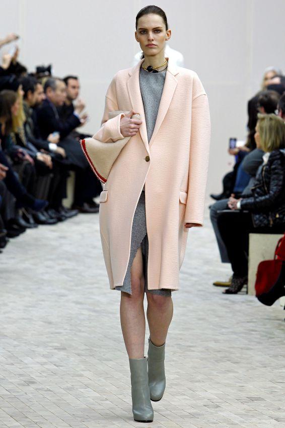 розовое кашемировое пальто фото