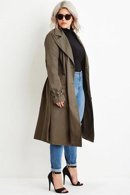 классическое женское пальто для крупных женщин фото