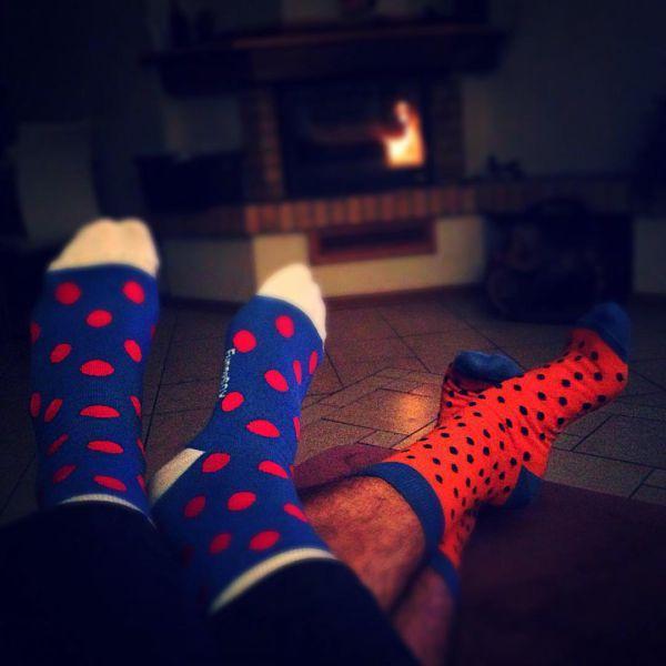 прикольная пара носков