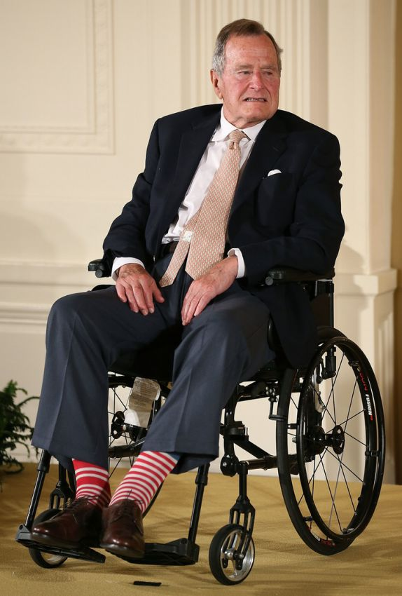 носки Джорджа Буша