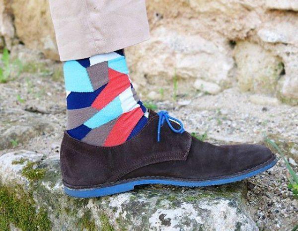 прикольные мужские цветные носки