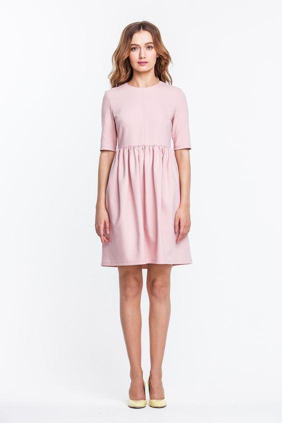 платье с юбкой тюльпан модный образ
