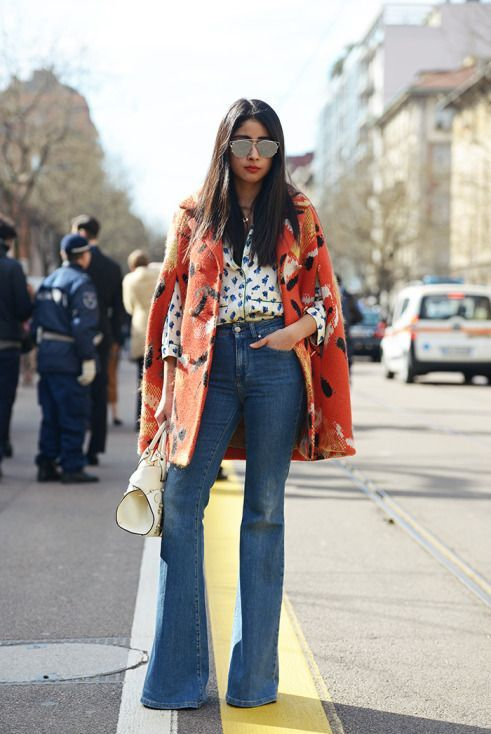 стильное пальто пончо мода 2017